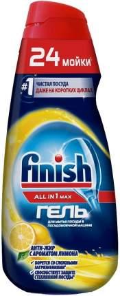 Гель для мытья в посудомоечной машине Finish all in 1 max анти-жир с лимоном 600 мл