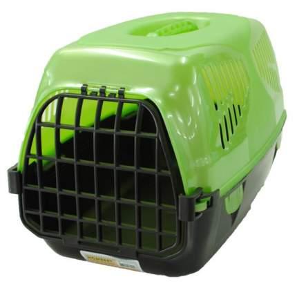 Переноска Homepet Путешественник для кошек и собак (Д 50 х Ш 33 х В 35 см, Зеленый)