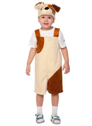 Карнавальный костюм ТД Карнавал для мальчиков песик коричневый