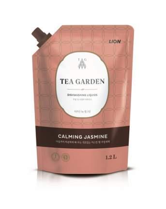 Средство для мытья посуды Lion chamgreen tea garden жасмин 1250 г