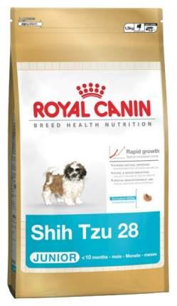 Сухой корм для щенков ROYAL CANIN Shih Tzu Junior, птица, 0.5кг