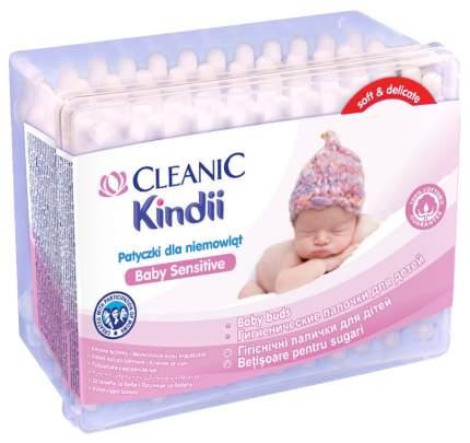 Ватные палочки для детей Cleanic Kindii 60 шт