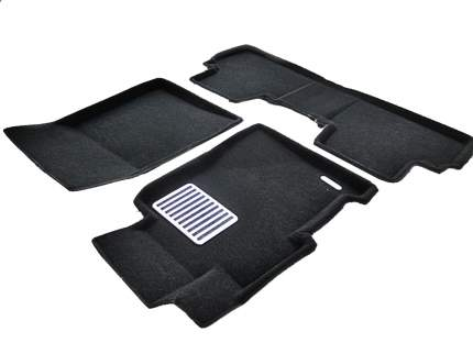 Комплект ковриков в салон автомобиля для Honda Euromat Original Lux (em3d-002602)