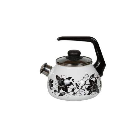 Чайник для плиты СТАЛЬЭМАЛЬ 1RC12 3 л