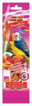 Лакомства для птиц Vitapol Smakers для волнистых попугаев с фруктами 50г