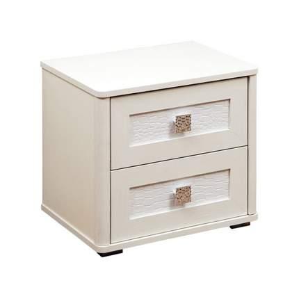 Тумба прикроватная приставная Олимп-мебель Мона 06.285 50x38,4x45,6 см, вудлайн кремовый