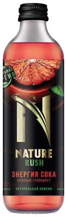 Напиток энергетический Nature rush rрасный грейпфрут 0.325 л