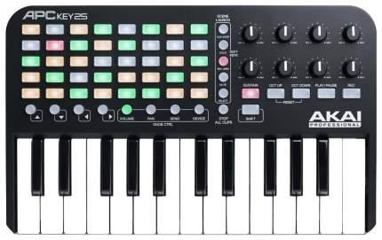 USB клавишный контроллер для Ableton Akai PRO APC KEY 25