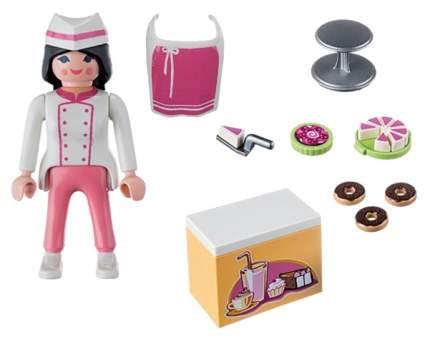 Игровой набор Playmobil Экстра-набор:Шеф-кондитер