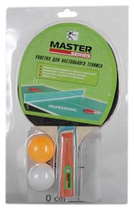 Набор для настольного тенниса Master Series SH037, 1 ракетки, 2 мяча