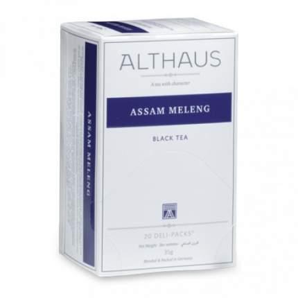 Чай черный Althaus assam meleng 20 пакетиков