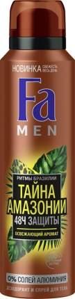 "Дезодорант Fa Men ""Ритмы Бразилии. Тайна Амазонии"" 150 мл"