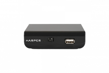 DVB-T2 приставка Harper HDT2-1030 black
