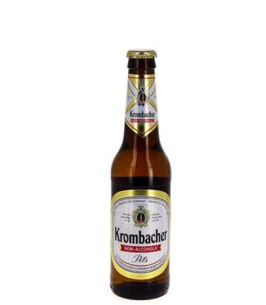 Пиво Krombacher безалкогольное стекло 0.33 л