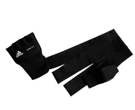 Накладки гелевые Adidas с бинтом 2 метра Quick Wrap Glove Mexican черные S/M
