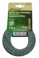 Леска для триммера Skrab 2,4 мм/15 м 28321
