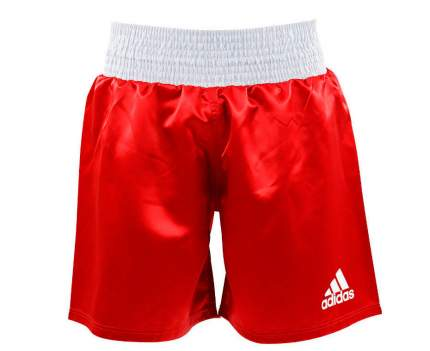 Шорты боксерские Adidas Multi Boxing Shorts красные 2XS