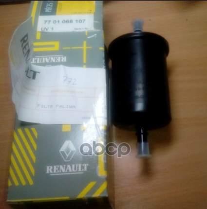 Фильтр топливный RENAULT 7701068107