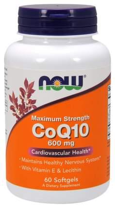 Коэнзим NOW CoQ10 60 капс.