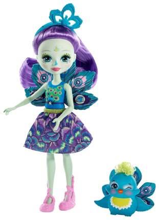 Кукла Enchantimals Mattel с питомцем Пэттер Павлина