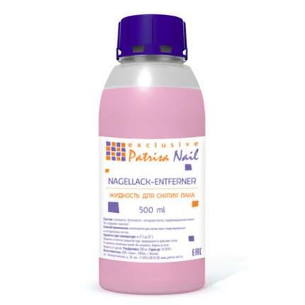 Жидкость для снятия лака без ацетона Patrisa Nail, 500 мл