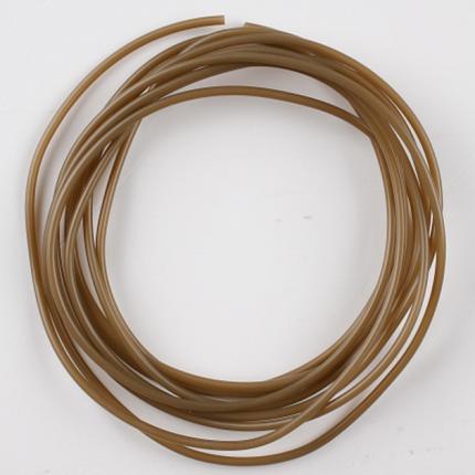 Трубка Mikado противозапутывающая, тонущая, коричневая