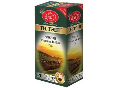 Чай черный в пакетиках для чашки Ти Тэнг Assam 20*2 г