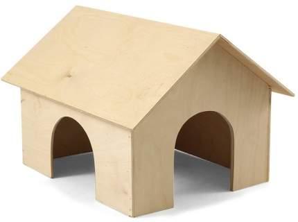 Домик деревянный для морской свинки Gamma 30 x 23 x 20,5 см