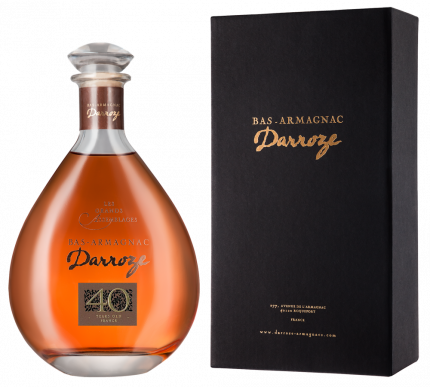 Арманьяк  Bas-Armagnac Darroze Les Grands Assemblages 40 Ans d'Age 0.7л