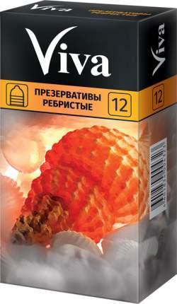 Презервативы Viva ребристые 12 шт.