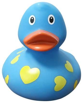 Игрушка для купания Веселые Ути-пути Уточка голубая в сердечках 1042