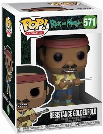 Фигурка Funko POP! Animation: Rick and Morty: Resistance Goldenfold