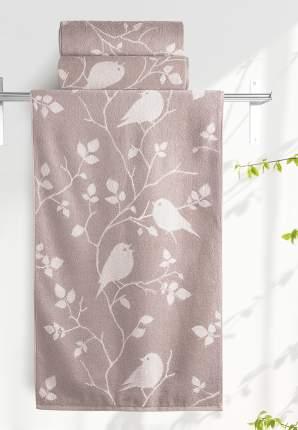 Банное полотенце Aquarelle Форест коричневый
