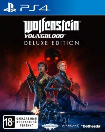Игра для PlayStation 4 Wolfenstein: Youngblood. Deluxe Edition