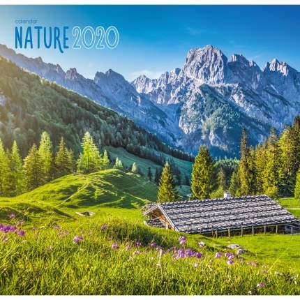 Календарь одноблочный 2020 Природа. Горный пейзаж, КПКС2010