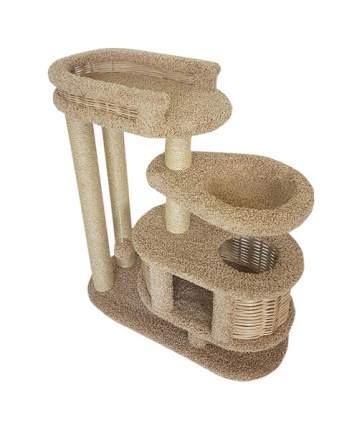 Комплекс для кошек Пушок Брунетка Бежевый