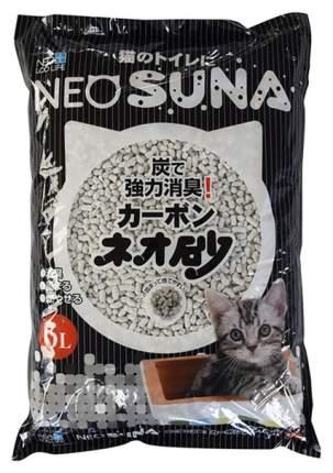 Комкующийся наполнитель для кошек NEO LOO LIFE бумажный, с активированным углем, 6 л