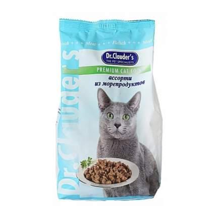 Сухой корм для кошек Dr.Clauder's Premium Cat Food, ассорти из морепродуктов, 15кг