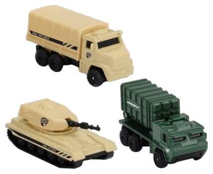 Игровой набор военных машинок, 3 шт Majorette