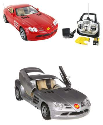 Машинка пластиковая радиоуправляемая Bondibon Creatures Mercedes SLR М17402 в ассортименте