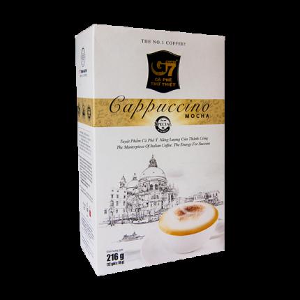 Кофе вьетнамский растворимый G7 капучино мока 3в1