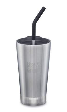 Термостакан Klean Kanteen Vacuum Insulated Tumbler 473 мл (16oz) с трубочкой