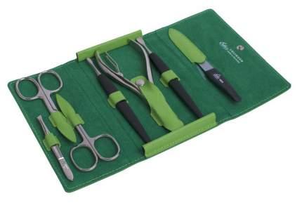 Маникюрный набор Erbe Solingen 7 предметов, зеленый