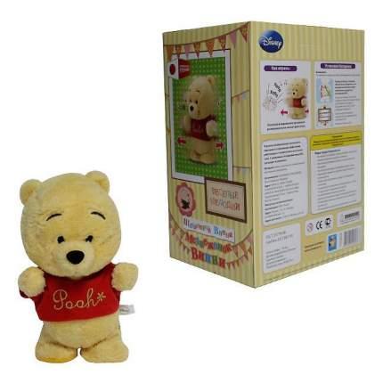 Мягкая игрушка 1 TOY Disney Шагающий Винни из плюша, функциональная в коробке