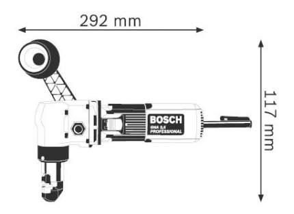Сетевые ножницы Bosch GNA 3,5 601533103