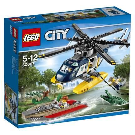 Конструктор LEGO City Police Погоня на полицейском вертолёте (60067)
