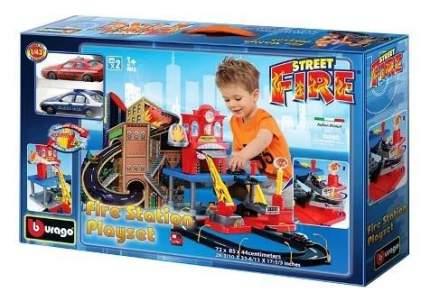 Игровой набор Bburago Пожарная станция 1:43