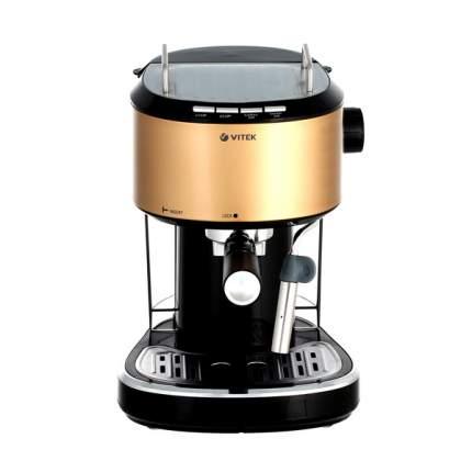 Рожковая кофеварка Vitek VT-1524 GD Gold