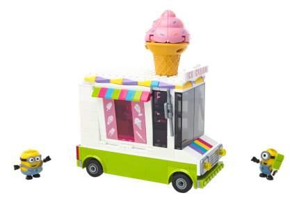 Конструктор пластиковый Mega Bloks® Миньоны фургончик с мороженым DPG73