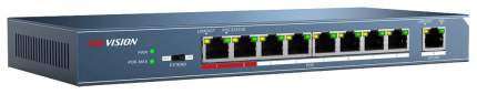 Коммутатор Hikvision DS-3E0109P-E Синий